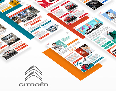 Newsletters et Ads Citroën