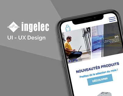 UI-UX For INGELEC Morocco Company