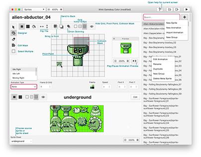 UI Design - GB Studio