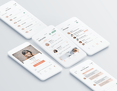GoFrendly - mobile design for a social app