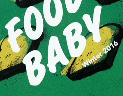GRAPHIC DESIGN | Food Baby Magazine