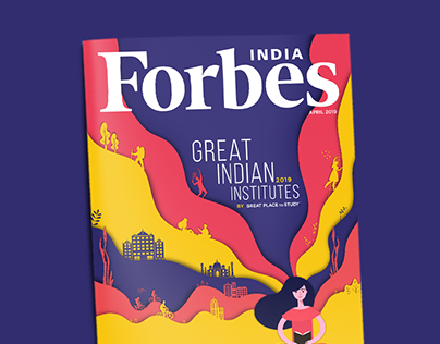 Forbes Covers and Advert