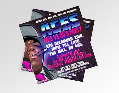Poster: Aston ACS, BCU ACS, UOB ACS presents ACES