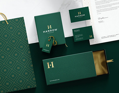 Harrow Menswear - Brand Identity Design