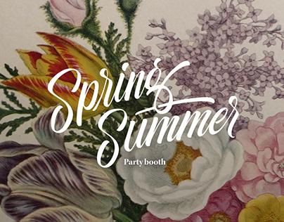 Spring/Summer Photobooth