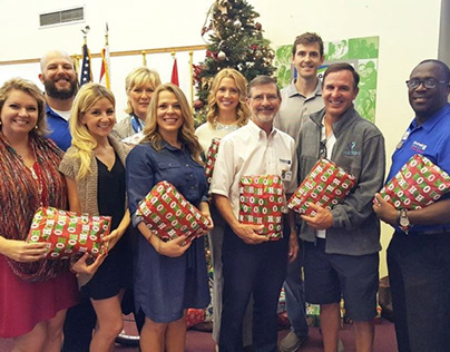 Goodwill spreads holiday cheer to local veterans in