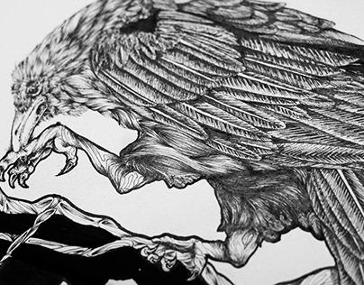 Ink Crow