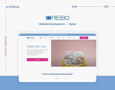 REBO - e-Commerce Website (Shopify)