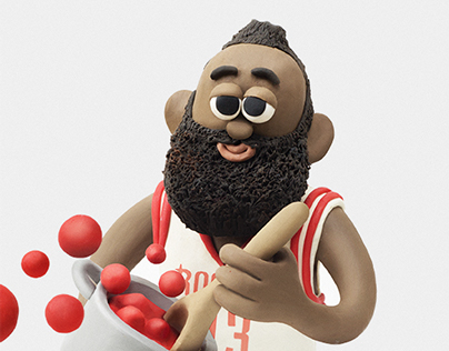 JAMES HARDEN x RIVISTA UFFICIALE NBA