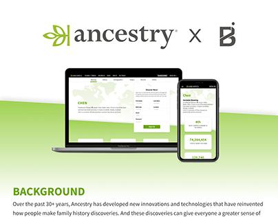 Ancestry Fall 2019