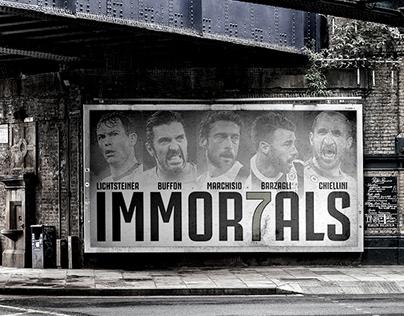 IMMOR7ALS | Simple memorial concept | Juventus legends
