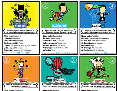 Social Media Superhéroes - #GamifiedEducation