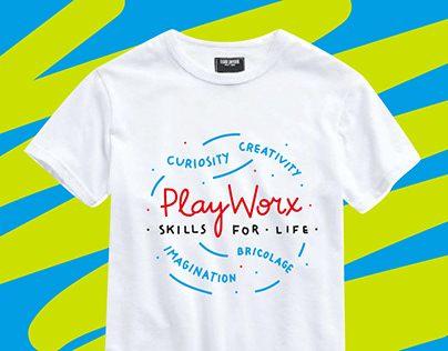 T-shirt prints for PlayWorx