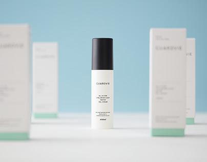 GUARDVIE cosmetics brand design