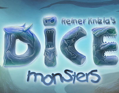 DICE MONSTERS mobile game art