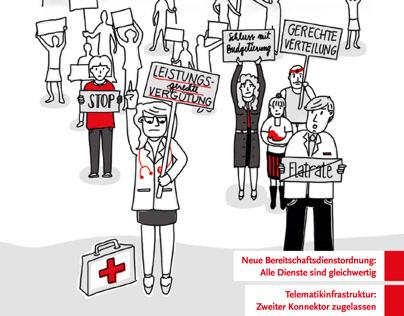 Illustration neue Honorarverteilung Ärzte/KV Berlin
