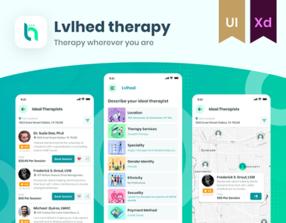 Lvlhed Therapy Services | Online Booking App