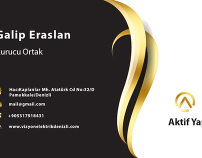 Business Card For My Client