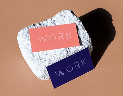 Work Design Studios Logo and Business Card Design