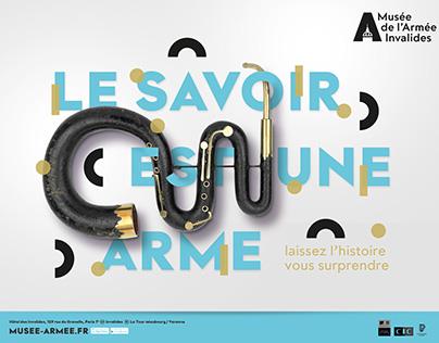 MUSÉE DE L'ARMÉE Campagne pub