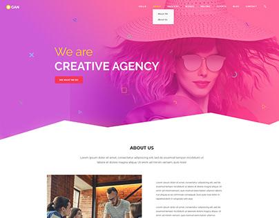 OGAN - Creative Agency Web Template