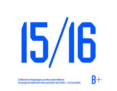 Logotypes & Marks 2015 — 2016
