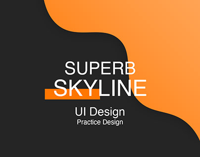 SuperbSkylines - Practice UI Design