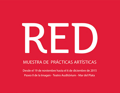 RED. MUESTRAS DE PRACTICAS ARTISTICAS 2015
