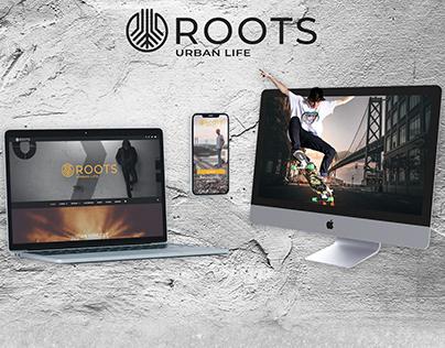 Roots - Web Design Presentation