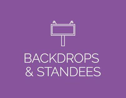 Bacdrop & Standee Designs