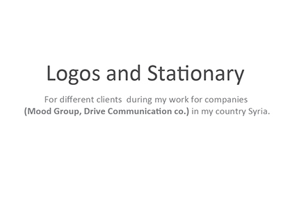 Logos and Stationary