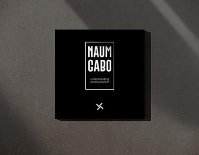 NAUM GABO - A Book Design Project