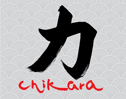 Menu Leaflet for Chikara Restaurant