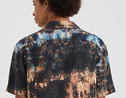 Tie-Dye for Pull and Bear