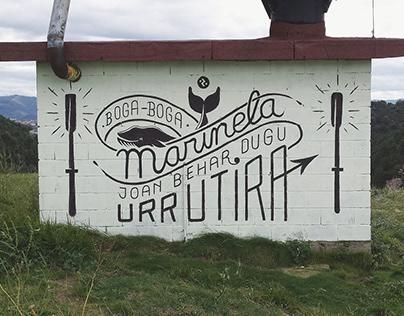 """""""Marinela"""" Wall"""