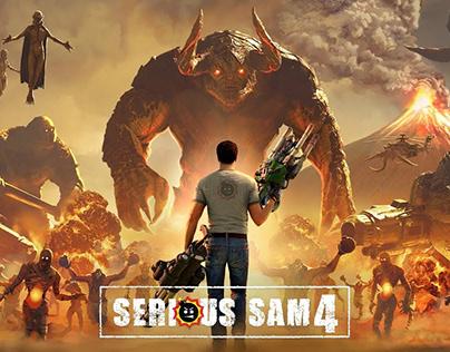 Serious Sam 4 Trailer