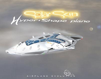 """HSP """"Solar Skin"""", Quantum Age Airplane"""
