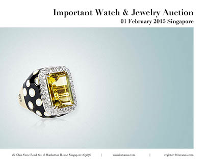 Lucanna | Important Watch & Jewelry Auction Catalogue