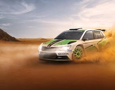 Skoda Dakar Rally, Retouch and Design 2018