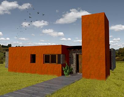 Anteproyecto vivienda en Cosquin
