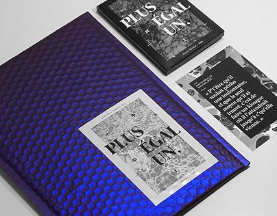 PLUS ÉGAL UN ⏤ Print Design