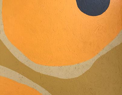 gRoOvY (bedroom floor mural project)