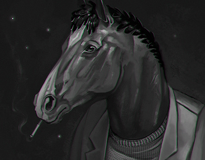 BoJack Horseman - fanart