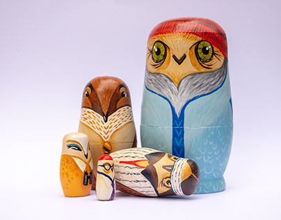 Russian Owls | Wes Anderson V2