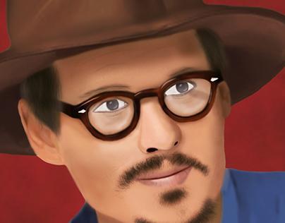 Johnny Depp - DIGITAL PAINT