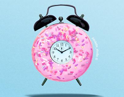 Alarm donut ! ⏰🍩