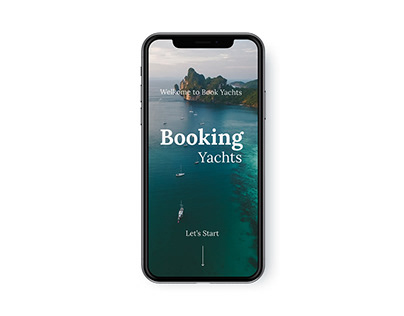 Mobile version website Booking Yachts
