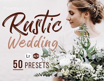 Rustic Wedding - 50 Lightroom & ACR Presets
