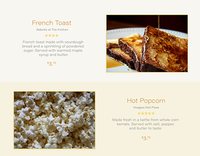 YELP Food Redesign
