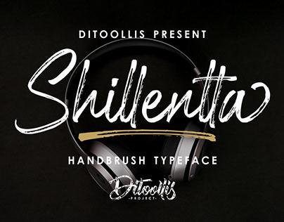 Shillentta Handbrush Font